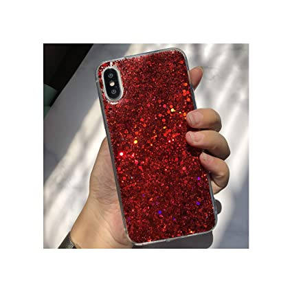 Amazon.com: Lespai Bling Glitter Funda para Xiaomi Redmi 5 ...