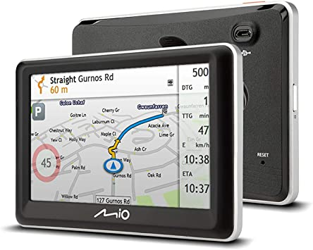Mio Spirit 7700 Lm Sat Navigation System Mit Lifetime Elektronik