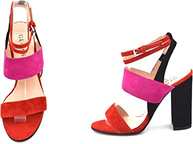 Red And Pink Heels