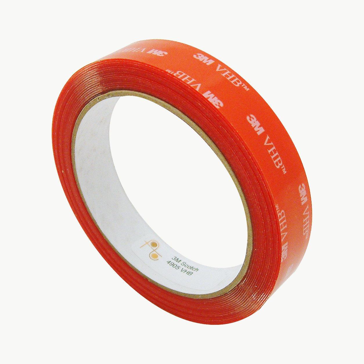 Clear 3M 4905//CLR0755 Scotch 4905 VHB Tape 3//4 x 15 ft
