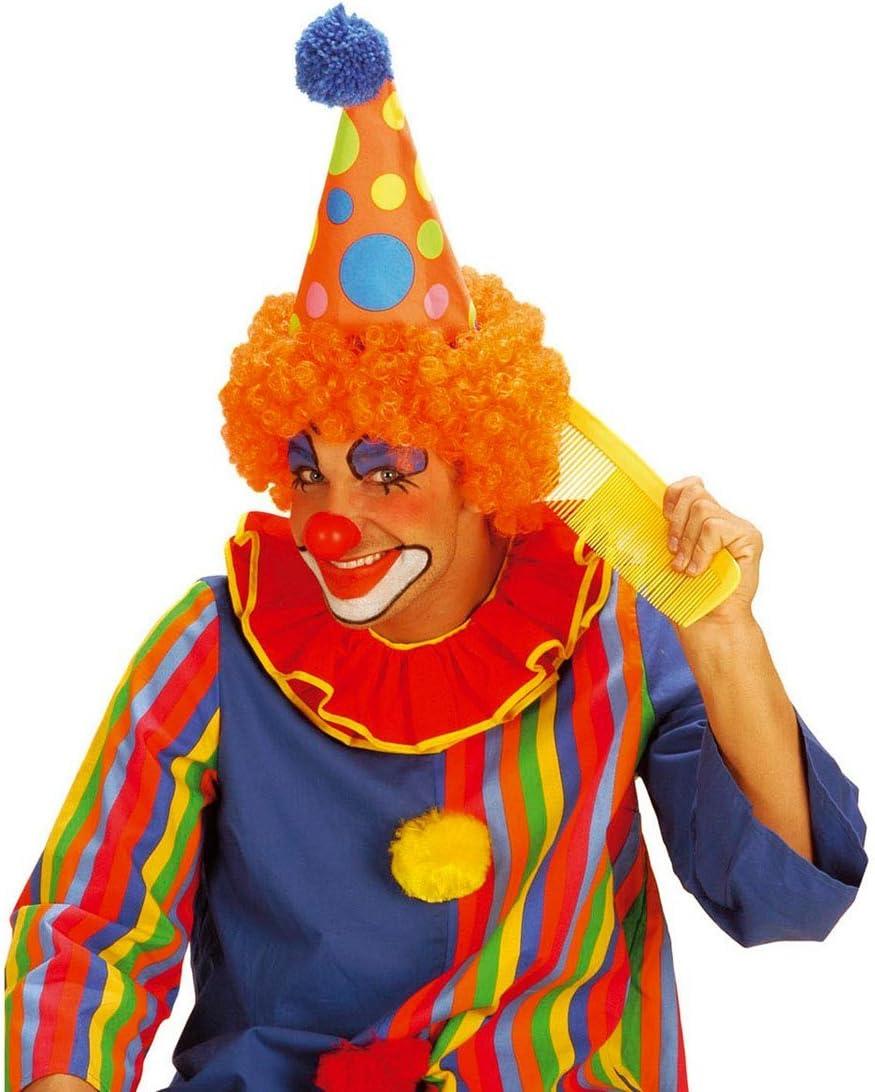 Riesen Clown Kamm Bunter Riesenkamm Haarkamm Maxi Frisierkamm Retro Styling