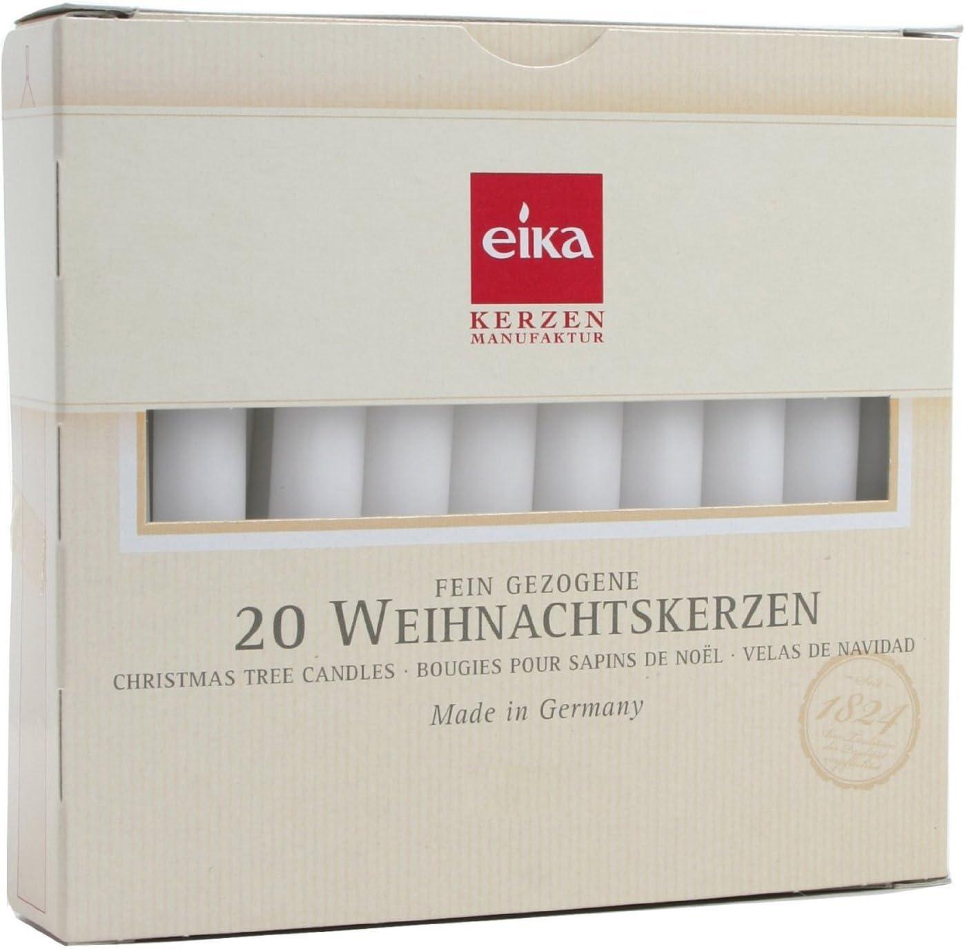 Brubaker colore: Bianco Candele per albero di Natale confezione da 20