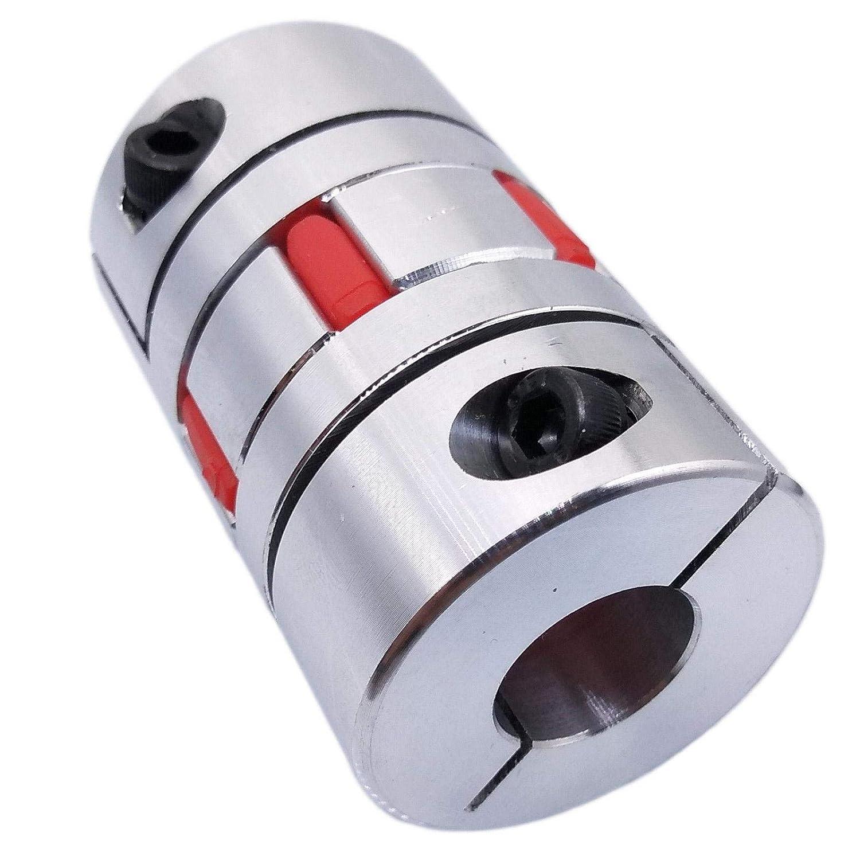 1PC 4-10MM Flexible Plum Coupling Shaft Coupler Connect D20L30 for Stepper Motor