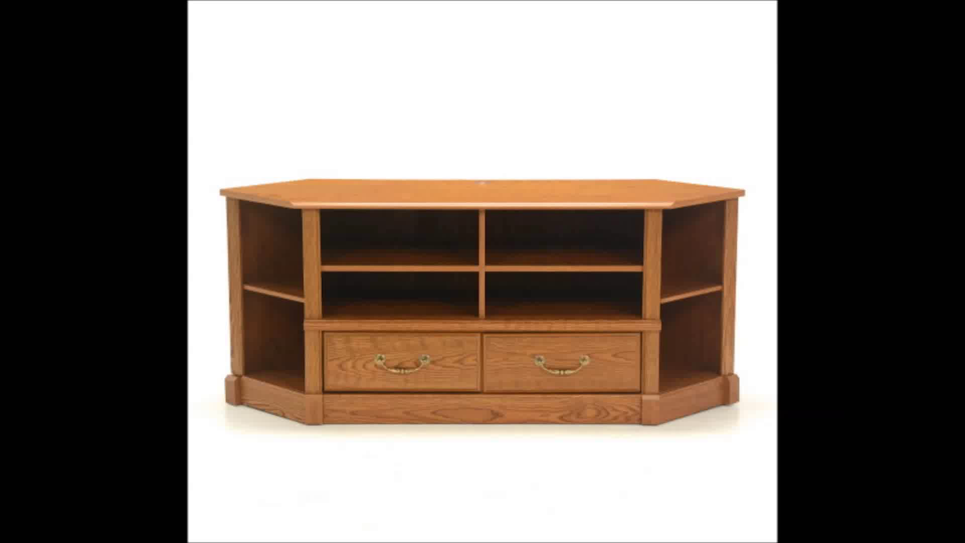 Sauder 403818 Orchard Hills Corner Entertainment Credenza