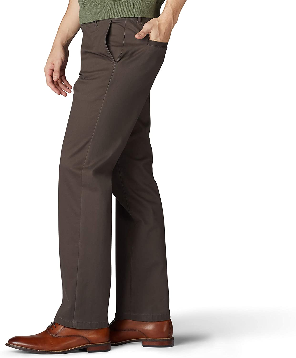 LEE Mens Performance Series Extreme Comfort Straight Fit Pant