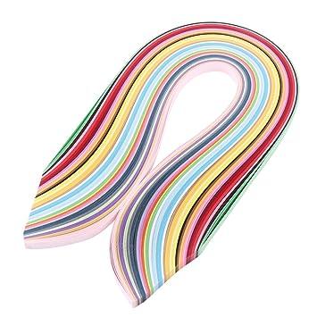Amazonde Akozon Quilling Papier Streifen Multi Color 720 Stück