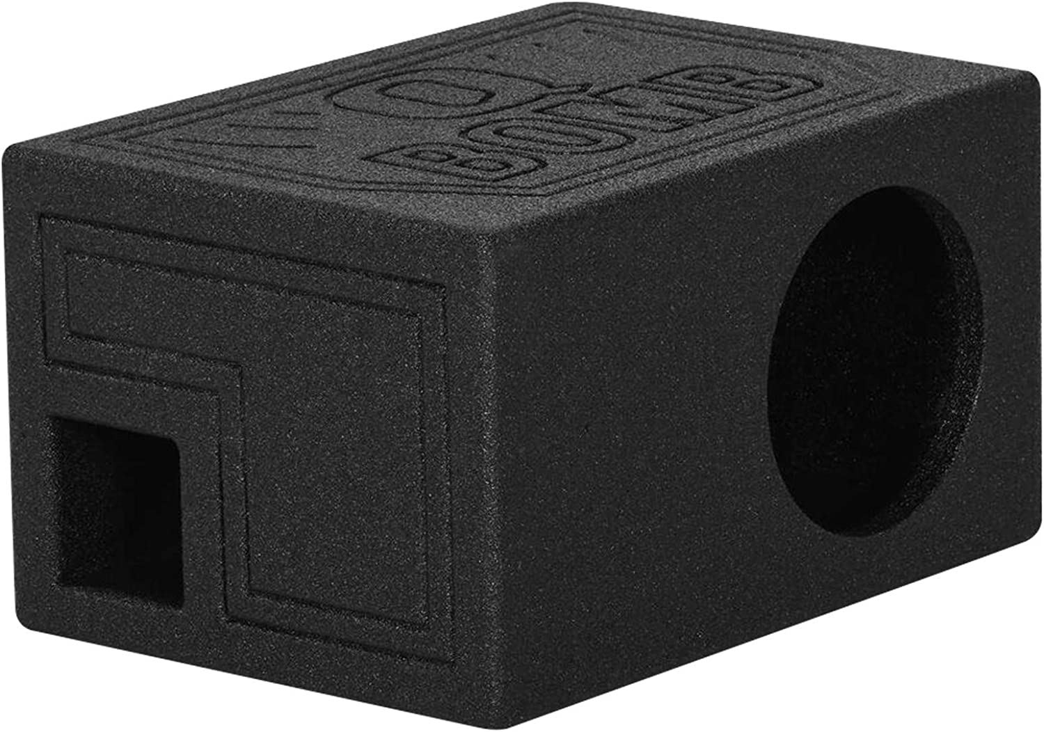 Rockville RQB65 Single 6.5 Ported Subwoofer Enclosure Bedlined Sub Box 1.01 Cu