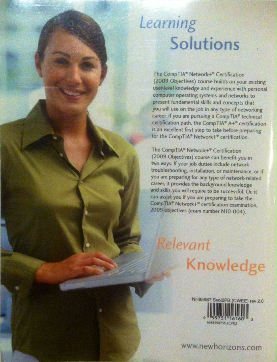New Horizons Computer Learning Centers Comptia Network