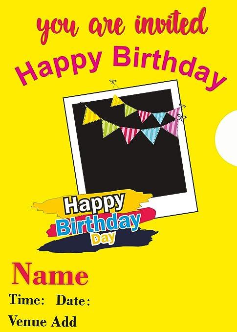 Ezellohub Best Fancy Designer Happy Birthday Banner Design