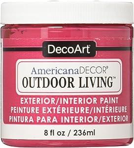 DecoArt Deco Art Americana Outdoor Living 8oz Garden Party, 8 oz