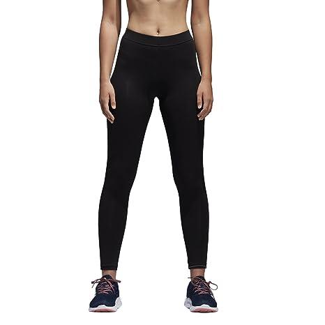 adidas Women's Athletics Essential Linear Tights, Black/White, XX-Small