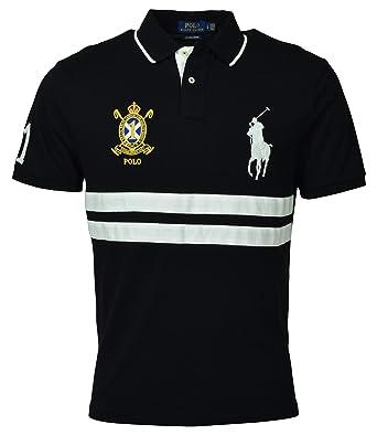 Polo Ralph Lauren VBP - Camiseta Deportiva para Hombre - Negro - X ...