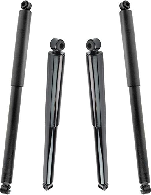 ANGLEWIDE Front Rear Auto Shocks Absorber Stuts Fits 1999-2004 ford F-250 Super Duty,1999-2004 ford F-350 Super Duty 4x with 344370 344382