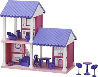 product image for American Plastic Toys Fashion Doll Cozy Cottage, Purple (90730)