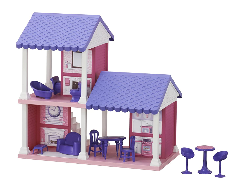 American Plastic Toys Fashion Doll Cozy Cottage 90730