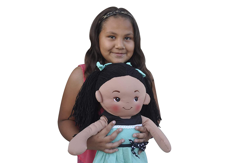Linzy Plush 16 Pink Freya Doll Soft Rag Doll L-98344