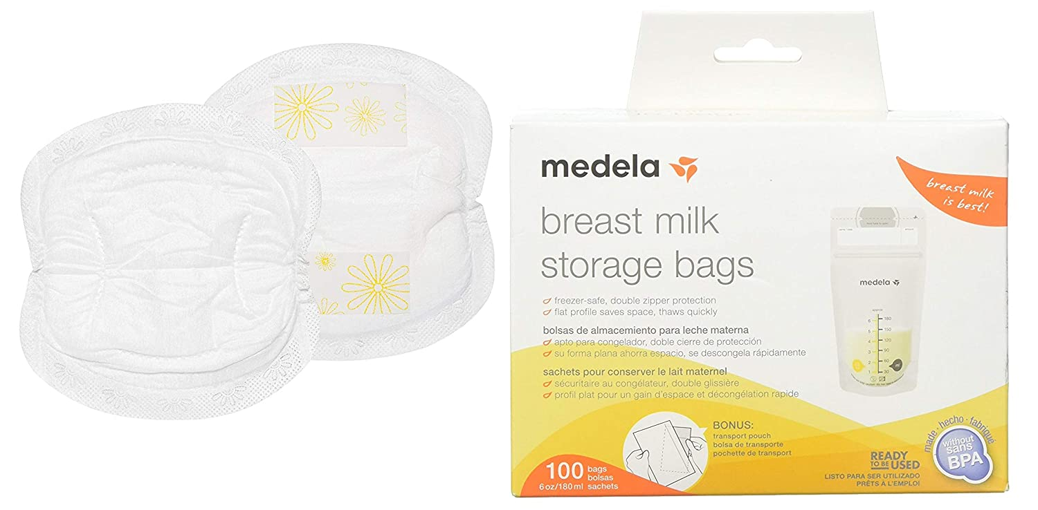 Amazon.com : Medela Nursing Pads, Pack of 120 Disposable ...