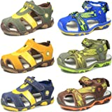 CIOR Boy Sports Sandals Closed ToeChildren Athletic Beach Shoes (Toddler/Little Kid/Big Kid)