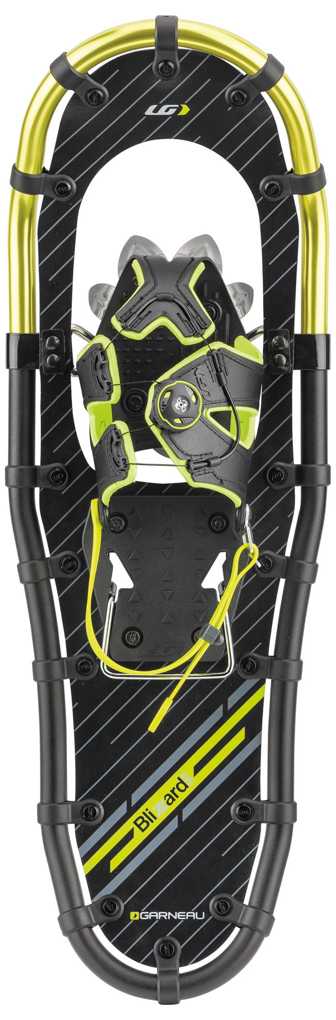 Louis Garneau - HG Men's Blizzard II Snowshoes, Lime, Size 1036 by Louis Garneau