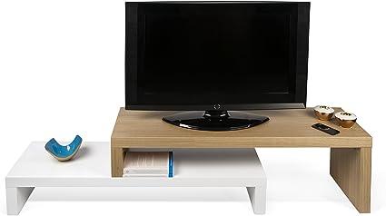 TemaHome, Cliff, Mobile Porta TV, Bianco (RovereBianco), 125 x 38 x 20 cm
