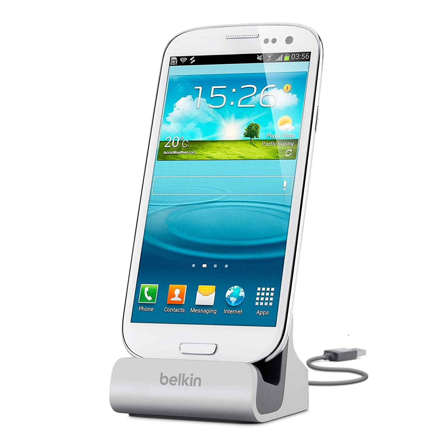 Amazon.com: Belkin PowerHouse Micro USB Charge and Sync Dock for ...