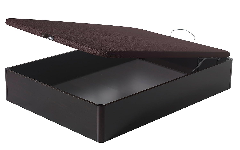 Homely - Canapé arcón de Gran Capacidad con Tapa abatible tapizada - 150x190, Roble: Amazon.es: Hogar