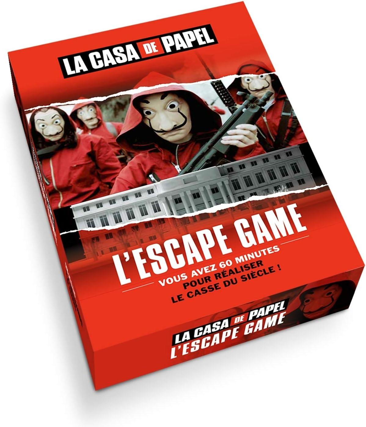 LEscape Game la Casa de Papel: Larousse: Amazon.es: Juguetes y juegos