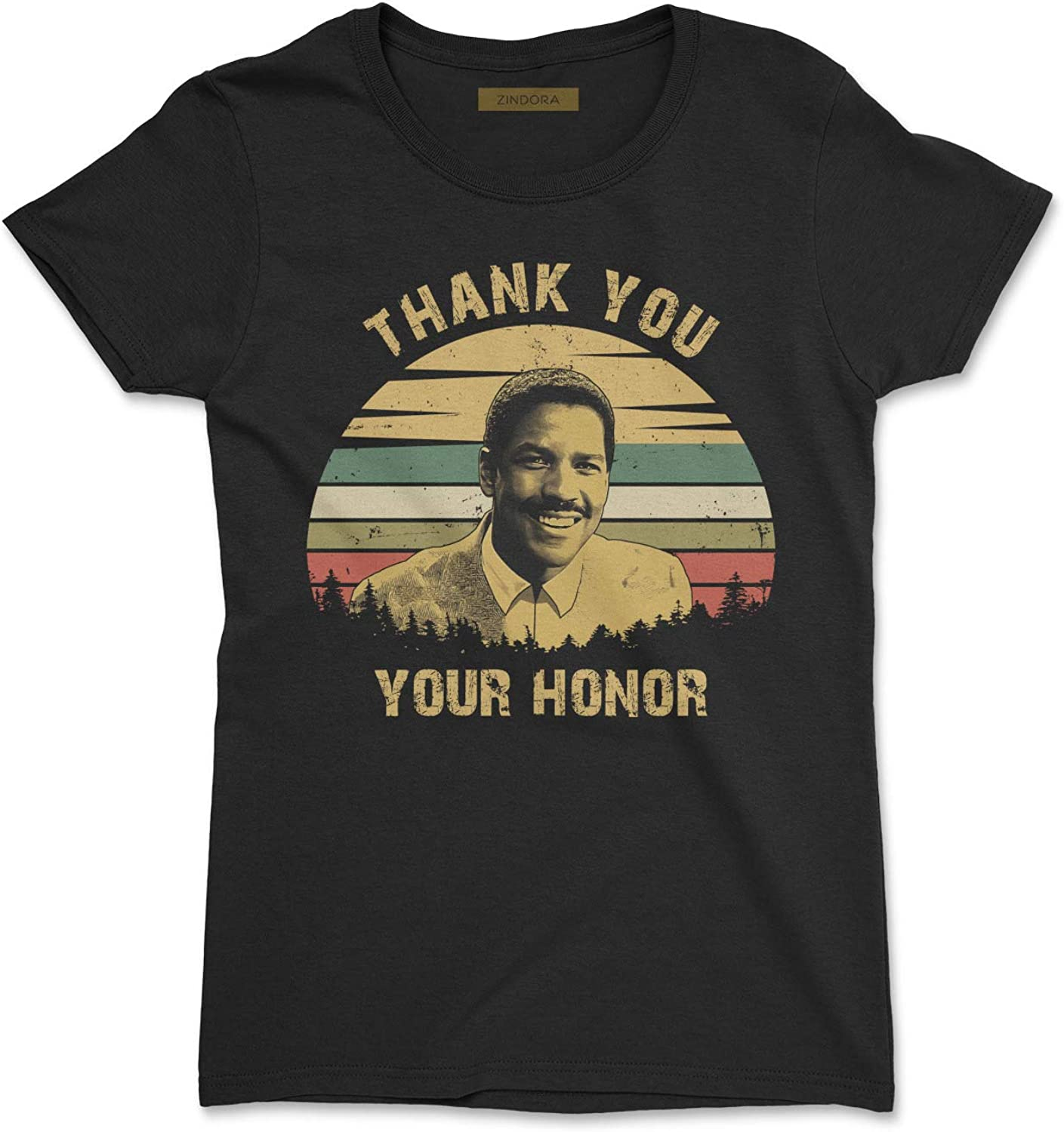 Thank You Your Honor Vintage Retro T-Shirt