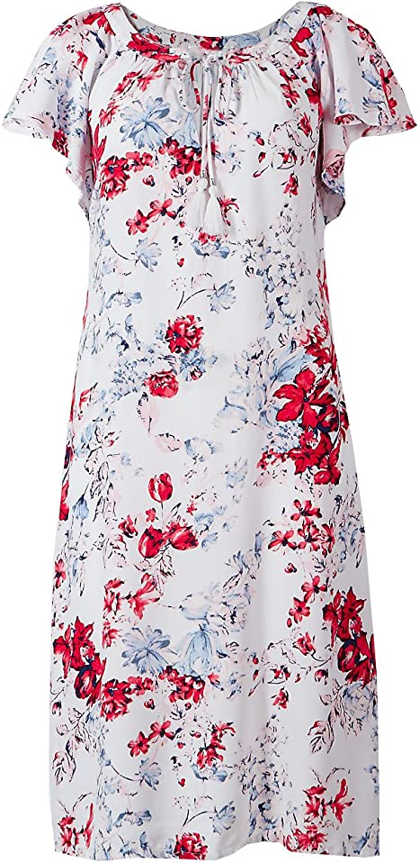 New Ex M/&S Floral Summer Dress Size 12