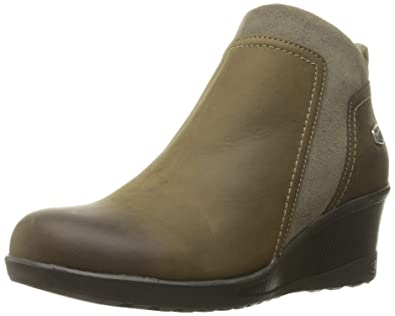 Women's Wedge Zip Shoe