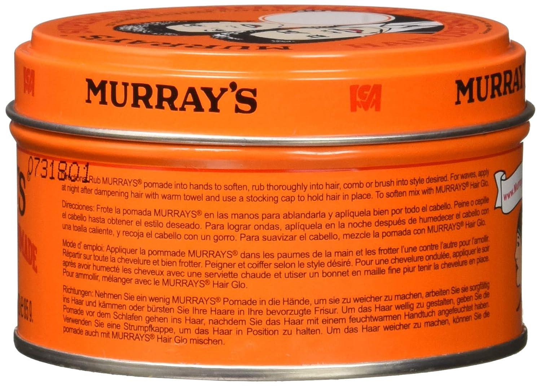 Amazon.com : Murrays Superior Hair Dressing Pomade, 3Oz - 12 pieces : Beauty