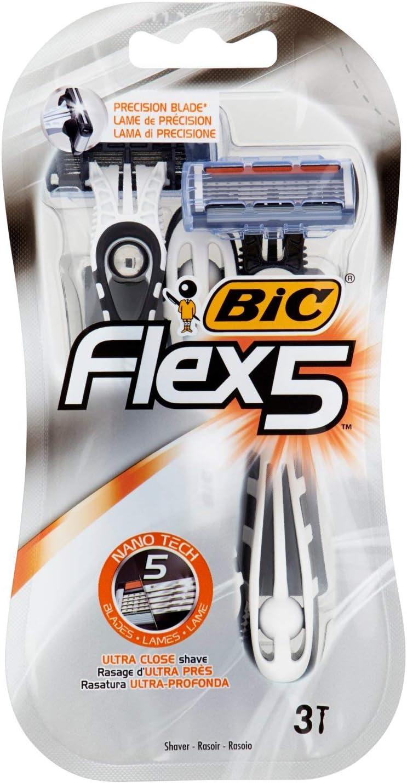 BIC Maquinilla Afeitar Desechable - 3 Cuchillas