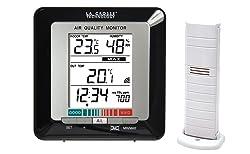 La Crosse Technology WS272 Station de températures avec indicateur de la qualité de l'air - Noir