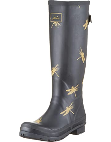 df955f5d54a1 Joules Women s Wellyprint Rain Boot