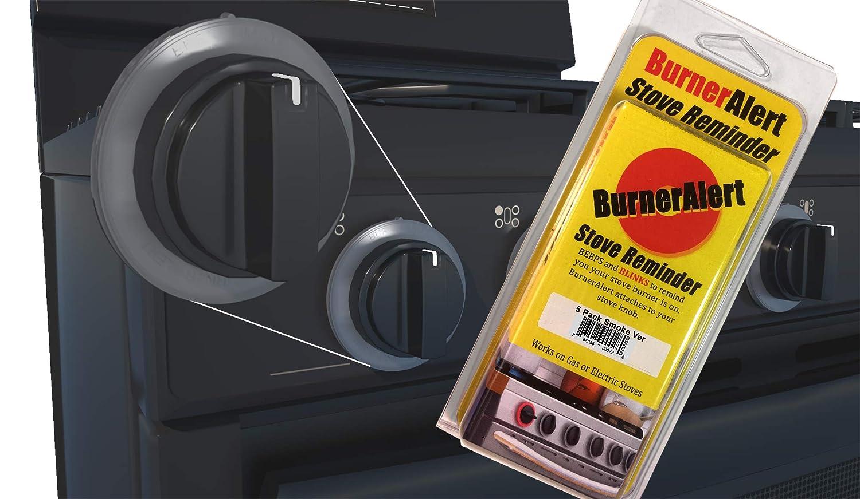 BurnerAlert Stove Reminder Disc (5 Pack, Color Smoke)