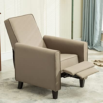 Amazoncom Belleze Modern Recliner Club Chair Accent Living Room