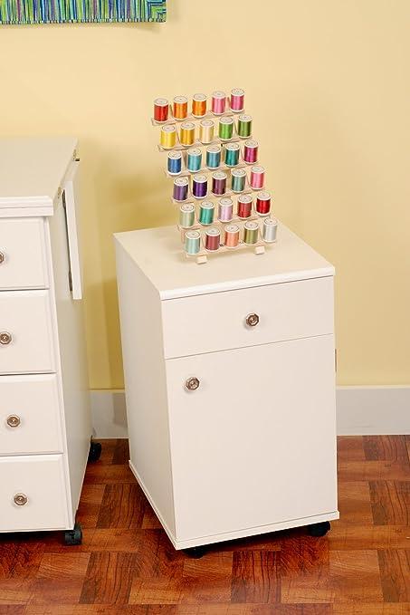Exceptional Suzi Sewing Storage Cabinet White 14.25 X 16.5 X 24.5in | Arrow 801