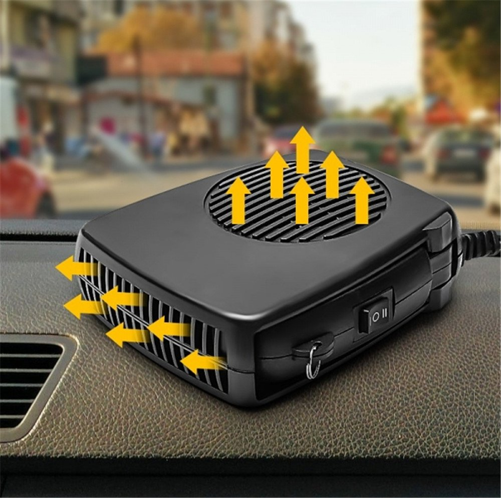Lanxi/® 150/W 2/en 1/Chauffage//Climatiseur de voiture Noir appareil de contr/ôle de temp/érature