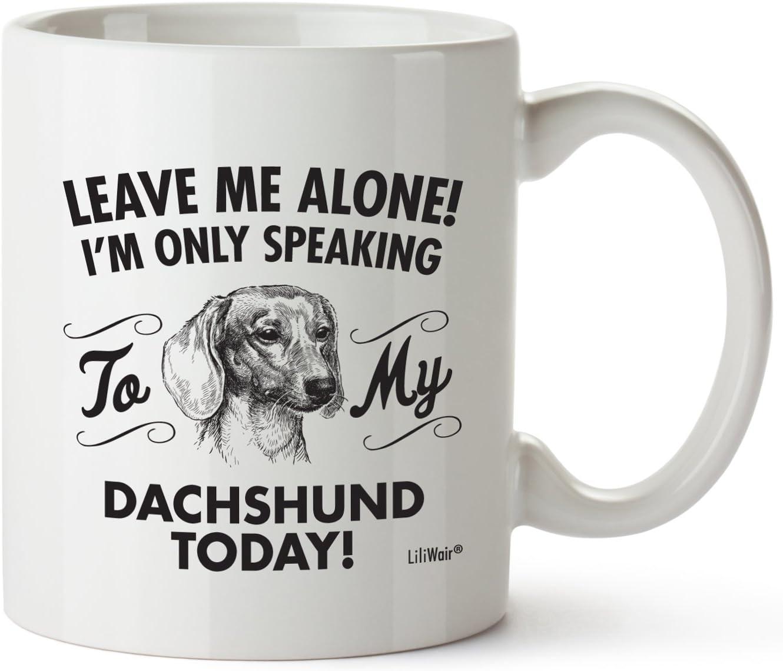 """Dackel DE ein Becher /""""I love/"""" Subli Dog"""