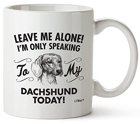Amazon.com: Dachshund mamá regalos taza mujeres hombres Papá ...