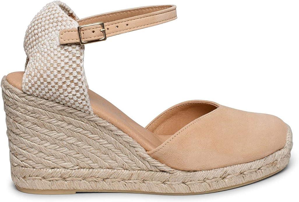 Zapatos miMaO. Zapatos de Piel Mujer Hechos EN ESPAÑA. Cuña de ...