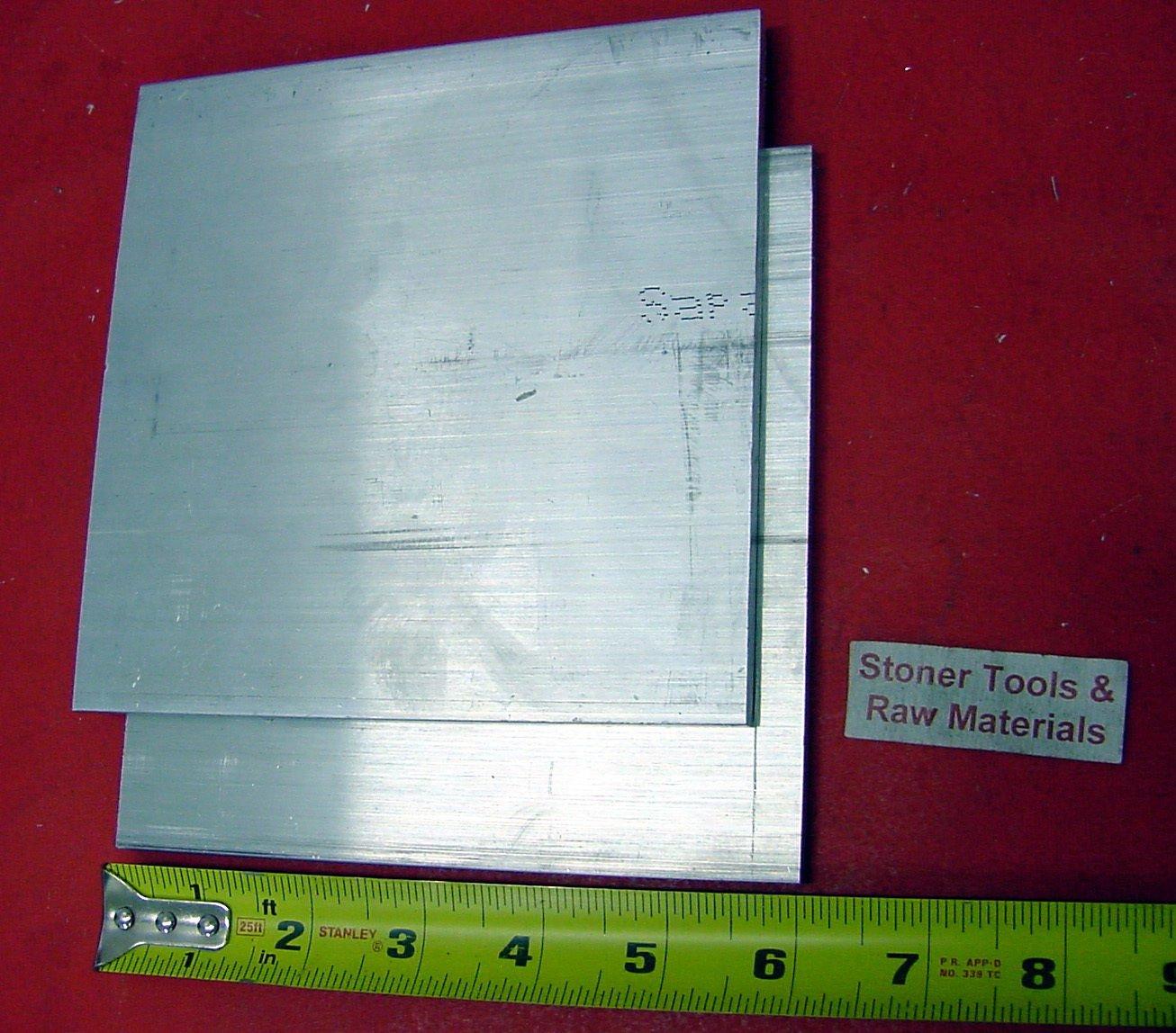 "5 Pieces 1//2/"" X 1/"" ALUMINUM 6061 FLAT BAR 14/"" long .500/"" T6511 New Mill Stock"