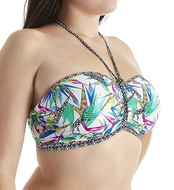 Traje de baño Bandeau Freya Tropicool Multicolor: Amazon.es ...