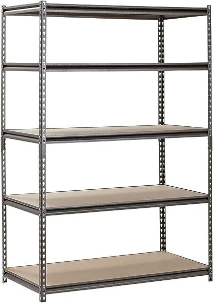 New Retails Upper Shelves for Economy Metal Shelving Units 48W x 12D