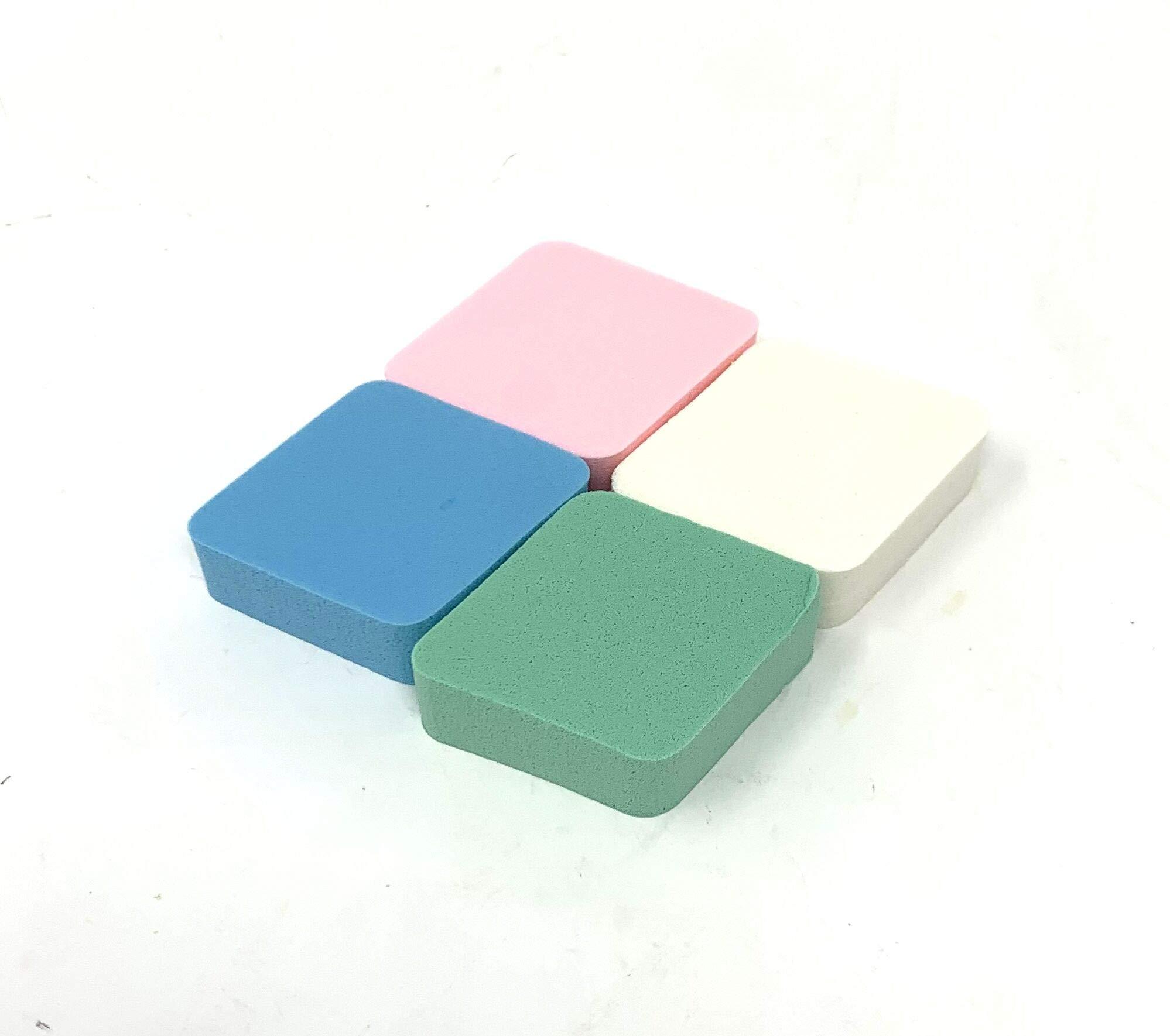 800 Pack Makeup Sponge Set Soft Diamond Shaped Beauty Sponges Fun Assorted Colors Wholesale Bulk Lot by Chachlili