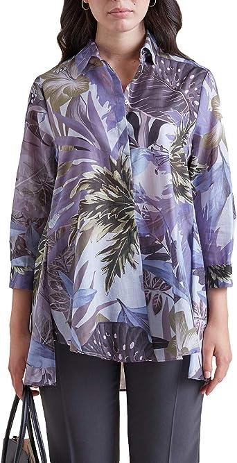 Elena Mirò : Camisa Estampada (Italian Size): Amazon.es: Ropa y accesorios