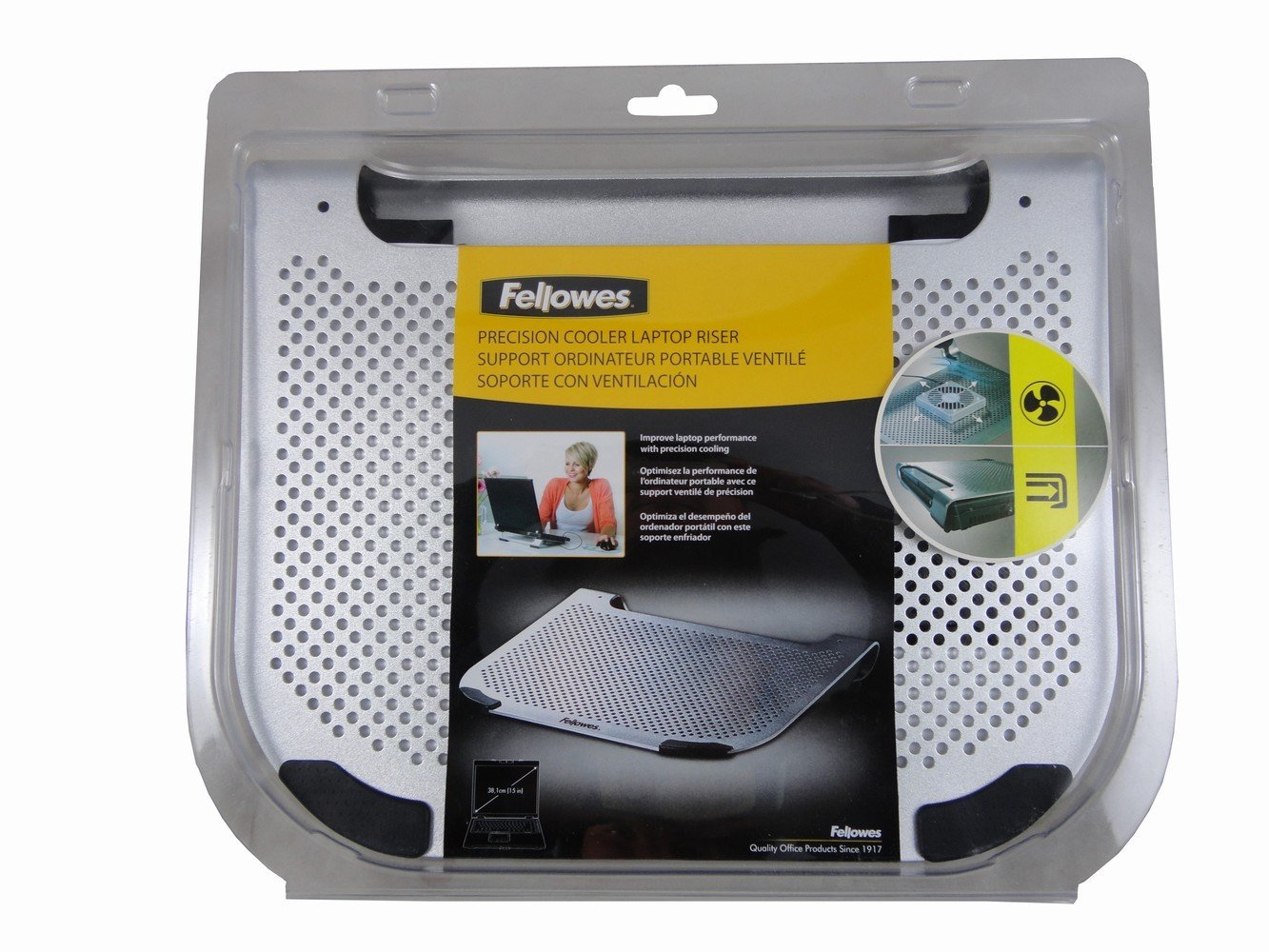 Amazon.com: Fellowes Precision Cooler Laptop Riser: Computers & Accessories