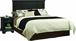 Bedford Black King Headboard and Night Stand by Home Styles