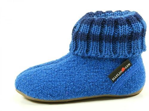 Haflinger 481007 Everest Pablo Zapatillas de casa de lana niño: Amazon.es: Zapatos y complementos