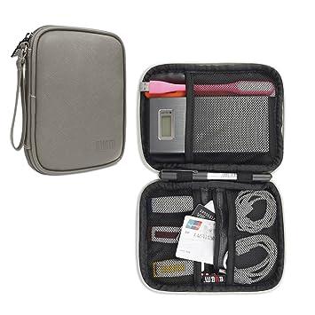 BUBM Bolsa para Pendrives USB Organizador para Cables Estuche para Bateria Extra Cargador y Accesorios Eléctronicos